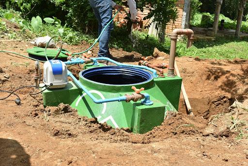 fossa séptica para saneamento rural